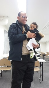 HUISA's active member from Egypt (Mohammed Amen) come with his son.